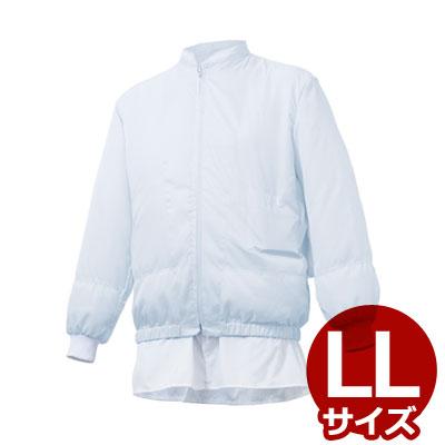 冷却ファン対応作業着 白い空調服 LLサイズ SG650/扇風機作業着 送風作業着
