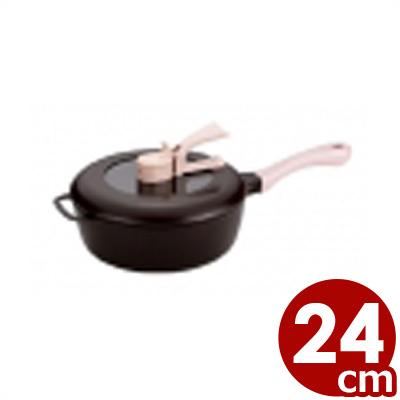レミパン 24cm ブラウン IH対応/ご存知!平野レミプロデュースの多機能フライパン 万能フライパン