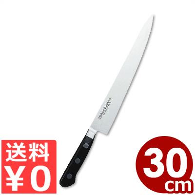 ミソノ ツバ付き筋引 300mm No.523 モリブデン鋼 国産洋包丁・関のキッチンナイフ/カービングナイフ 肉 切れ味 耐久性 《メーカー取寄/返品不可》