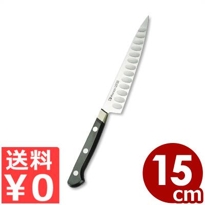 ミソノ UX10 サーモンペティナイフ 15cm スウェーデン鋼使用 No.773/国産洋包丁・関のキッチンナイフ 魚 刺身 くっつきにくい 《メーカー取寄/返品不可》