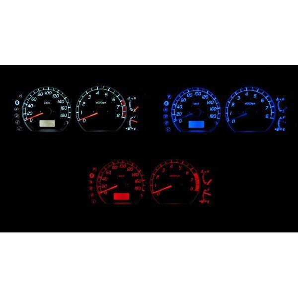 4色から選択可能です スイフト HT51S クリアランスsale!期間限定! 爆買い新作 LEDメーター照明セット 後期