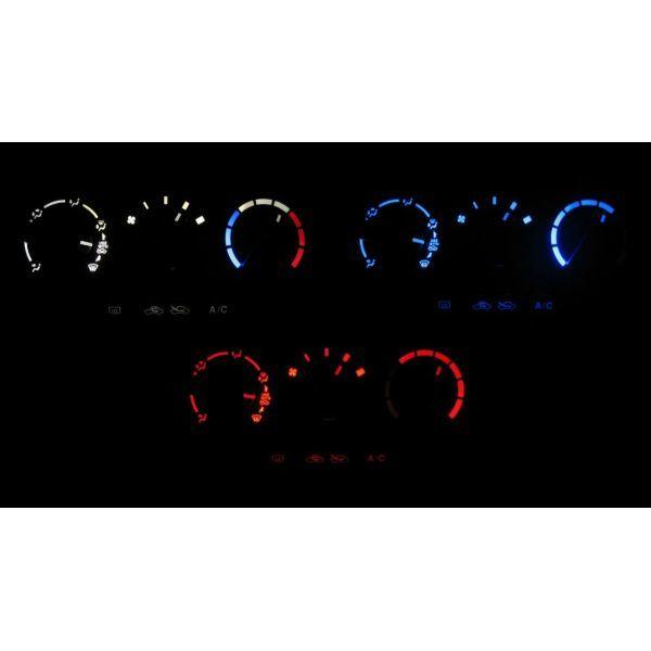 4色から選択可能です ワゴンR MH22S LEDエアコン照明セット タイムセール 40%OFFの激安セール