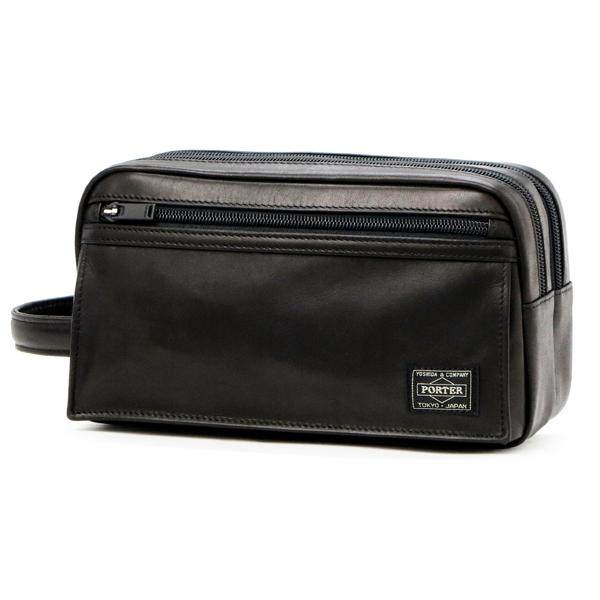 요시다 가방 포터 PORTER 사탕 이즈 파우치(부속품 상자 브랜드 블랙 남성 남편 선물 파우치 포터 파우치 poter 멋쟁이 요시다나 번맨즈 백 클러치 클러치 가방 세컨드 가방 가방 백 남자친구 브란드밧그포타데자인) 10 P03Dec16