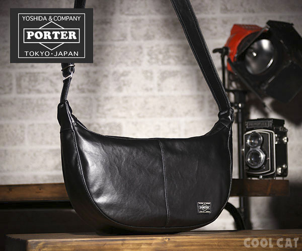 New PORTER FREE STYLE SHOULDER BAG 707-07186 BROWN From JP