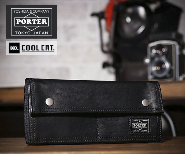 New PORTER FREE STYLE WALLET 707-08226 CAMEL From JP