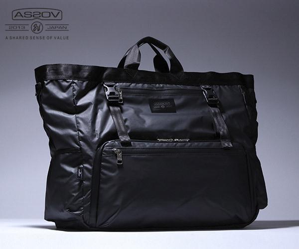 【選べるノベルティ付】 アッソブ トラベルシリーズ トートバッグ (カラー: ブラック) AS2OV ASSOV 061806