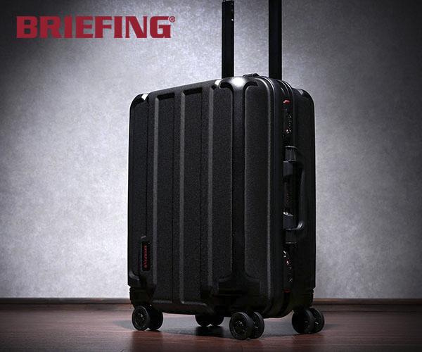 【選べるノベルティ付】 ブリーフィング BRIEFING 35L キャリーケース(カラー:ブラック)BRA191C04