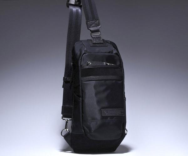 【選べるノベルティ付】 master-piece マスターピース デンシティ ワンショルダー (カラー:ブラック) 01357 | マスターピース ボディバッグ ワンショルダーバッグ ショルダーバッグ 日本製