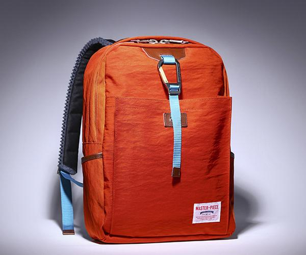 【選べるノベルティ付】 master-piece マスターピース リンク バックパック (カラー:オレンジ) 02340 | マスターピース リュック バックパック ビジネスリュック リュックサック 日本製