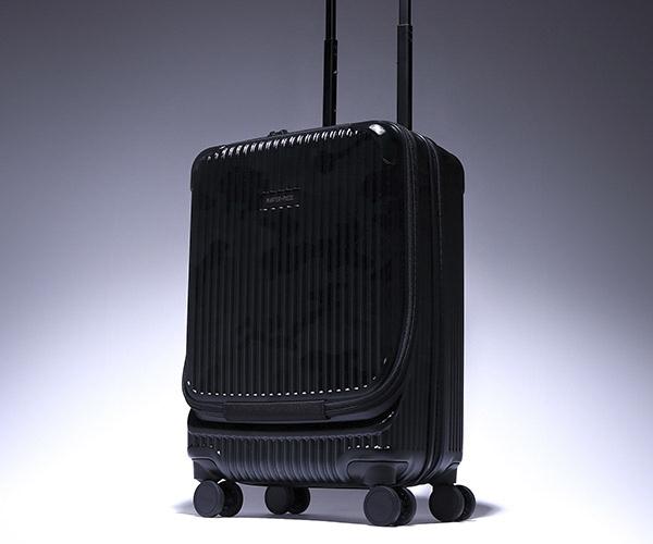 【選べるノベルティ付】 master-piece マスターピース トロリー 34L キャリーケース (カラー:ブラック) 505001-cm | マスターピース キャリー 旅行 日本製