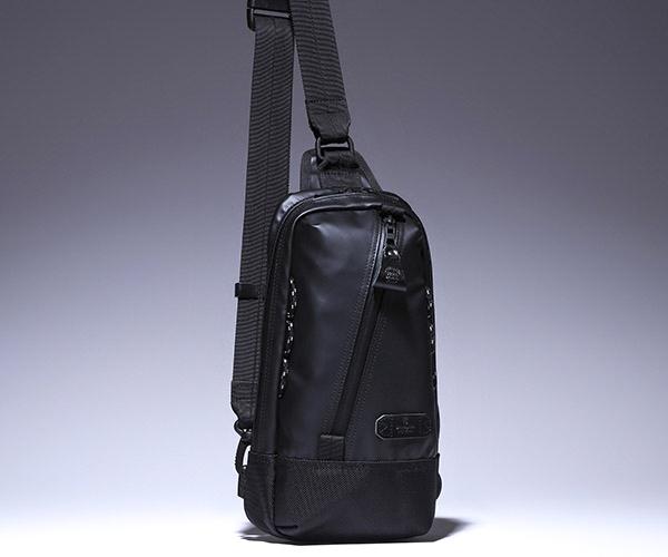 【選べるノベルティ付】 master-piece マスターピース スリック ワンショルダー (カラー:ブラック) 55549 | マスターピース ボディバッグ ワンショルダーバッグ ショルダーバッグ 日本製