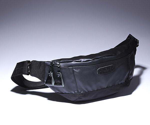 【選べるノベルティ付】 master-piece マスターピース スリック ウエストバッグ (カラー:ブラック) 55551 | マスターピース ボディバッグ ウエストバッグ ショルダーバッグ 日本製