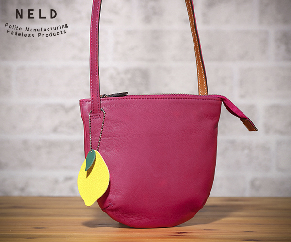 【選べるノベルティ付】 NELD ネルド ホホ ショルダーバッグS(カラー:ピンク)FW601