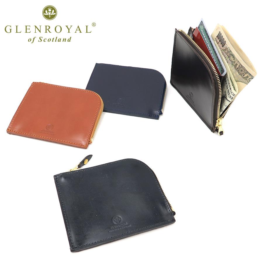 size 40 f1efb 4c95f ジップ グレンロイヤル ミニウォレット( ) 父の日 紳士 皮財布 ...