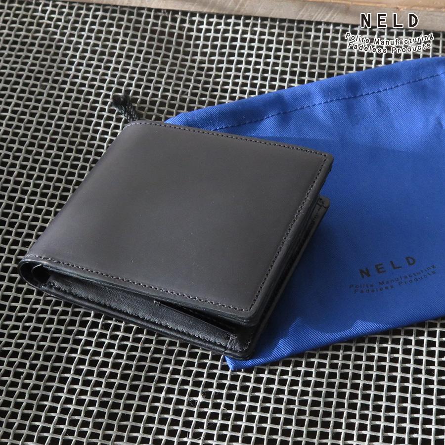 【選べるノベルティ付】 NELD CORDOVAN ネルド コードバン 二つ折り財布