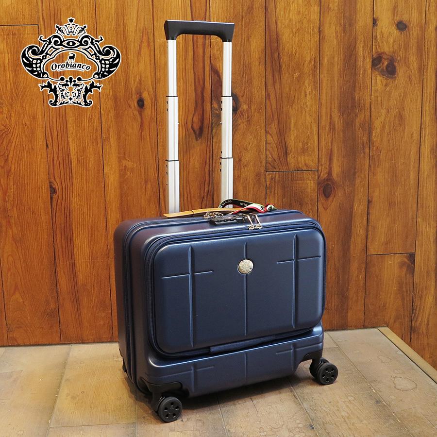 Orobianco オロビアンコ arzillo 横型キャリーケース 33L(海外旅行 一泊旅行 バッグ メンズバック メンズ ブランド おしゃれ 旅行 誕生日プレゼント バック 男性 旅行バッグ 鞄 一泊 キャリー キャリーバッグ 機内持ち込み スーツケース 横型 キャリーケース 出張 ビジネス )