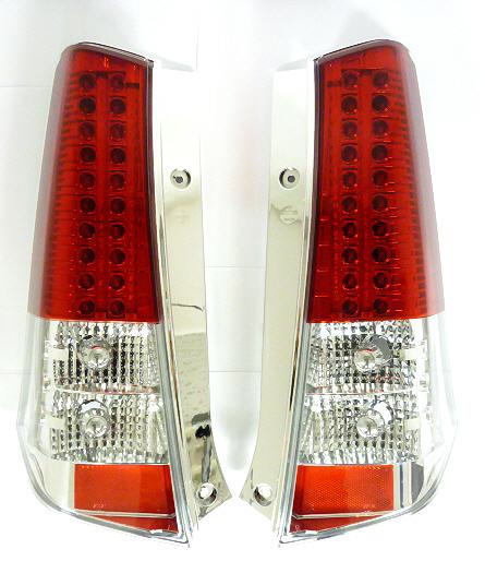 Soulmates ソウルメイツMH23SワゴンR LEDテールランプ 赤/白GT-099【1年保証】
