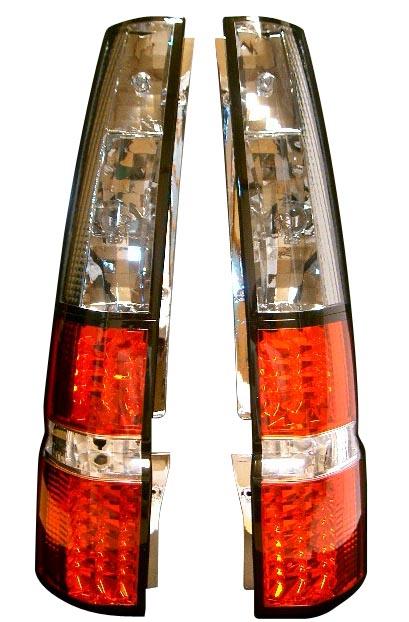 RF3,4 ステップワゴン用LEDテールランプ 赤/スモーク