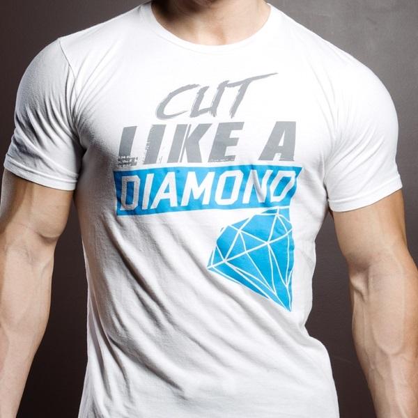 트레이닝 웨어・짐 웨어・런닝 웨어 T셔츠 사탕 화재 맨즈 패션 Seid Wear 세이드웨아 Cut Like a Diamond (sw_shrt_dmnd)