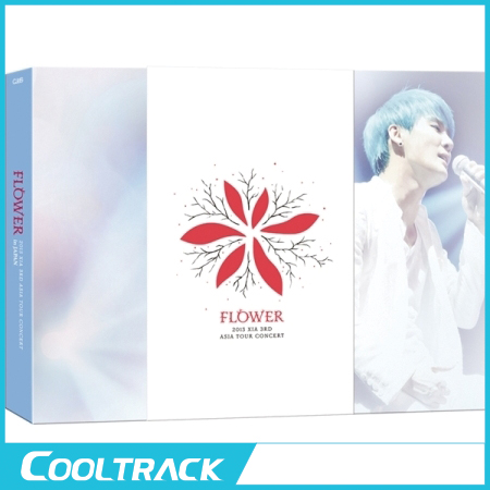 XIA(シア ジュンス) - 2015 3RD ASIA TOUR CONCERT [FLOWER] IN TOKYO DVD [3DISC+フォトブック(約100P)+ミニポスター6枚]/JYJ/JUNSU 【国内発送】
