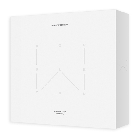 NU'EST W (ニューイストW) -『NU'EST W CONCERT [DOUBLE YOU] IN SEOUL DVD』CODE:ALL/日本語字幕[2DVD+はがき] 【国内発送】