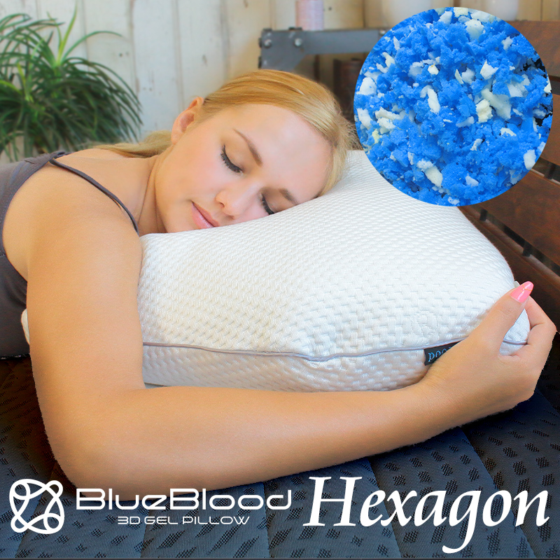 ブルーブラッドを砕いてふわふわの感触をプラス 売却 六角形のホテルタイプピロー スーパーSALE限定 価格 30%OFF 枕 肩こり BlueBloodホテルタイプチップピロー Hexagon ヘキサゴン ブルーブラッド ふわふわ 快眠枕 ホテル まくら 誕生日 プレゼント いびき ソフト ふんわり ギフト 送料無料 メーカー公式 うつぶせ 横向き マクラ うつ伏せ 柔らかめ
