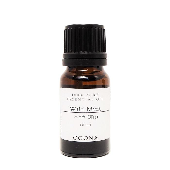 ハッカ 精油 天然 アロマオイル 僅かに甘さを感じる爽やかなミントの香り 100%ピュア エッセンシャルオイル ハッカ(薄荷) 10 ml【送料無料】メール便