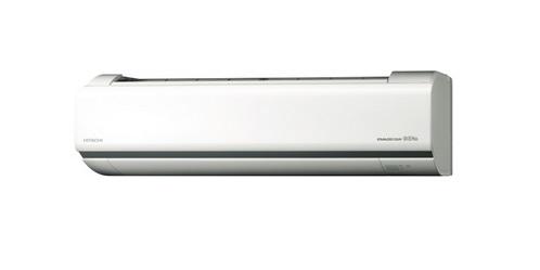 【最安値挑戦中!最大25倍】ルームエアコン 日立 RAS-V22J(W) 壁掛形 白くまくん Vシリーズ 単相100V 15A 冷暖房時6畳程度 スターホワイト [♪]