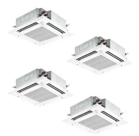 【最安値挑戦中!最大25倍】業務用エアコン 三菱 PLZD-ERP280EV 4方向天井カセット形 10馬力 三相200V ワイヤード [♪$]