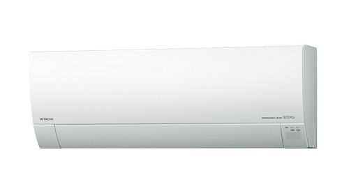 【最安値挑戦中!最大25倍】ルームエアコン 日立 RAS-MJ25H(W) 壁掛形 MJシリーズ 単相100V 15A 室内電源タイプ 冷暖房時8畳程度 スターホワイト [♪]