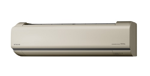 【最安値挑戦中!最大24倍】ルームエアコン 日立 RAS-V22H(C) 壁掛形 Vシリーズ 単相100V 15A 室内電源タイプ 冷暖房時6畳程度 シャインベージュ [♪]