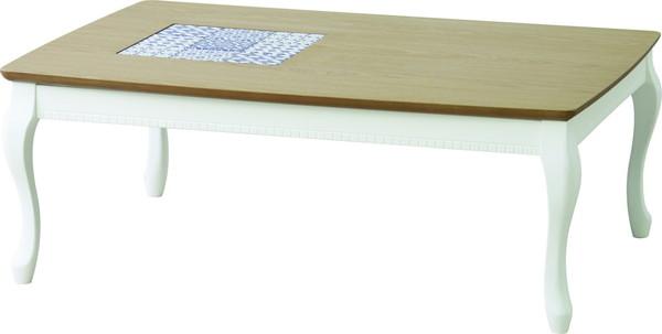 【最安値挑戦中!最大24倍】東谷 KT-101WH コタツ アリス W105×D75×H37 [♪]