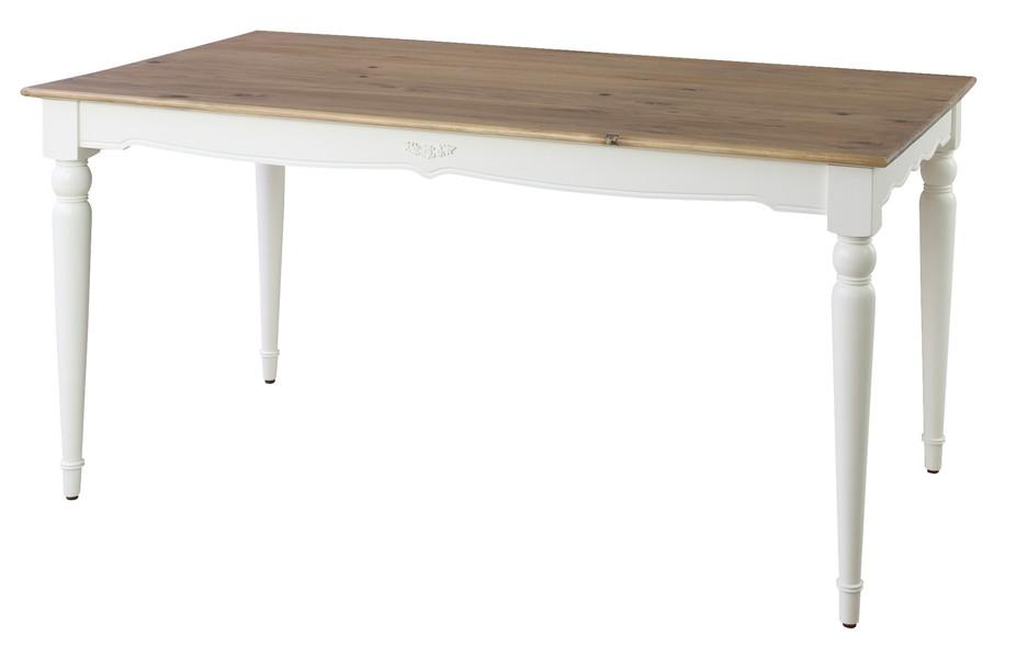 【最安値挑戦中!最大25倍】東谷 PM-865 ビッキー ダイニングテーブル W150×D80×H72 [♪]