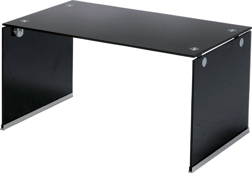 【最安値挑戦中!最大25倍】東谷 PT-28BK ガラステーブルS W76×D45×H39 [♪]