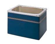 【最安値挑戦中!最大24倍】クリナップ 浴槽 SEB-92AW(R・L) ブルー(B) NEWインテリアバス・ステンレス浴槽 間口90cm 据置式2方全エプロン [♪△]