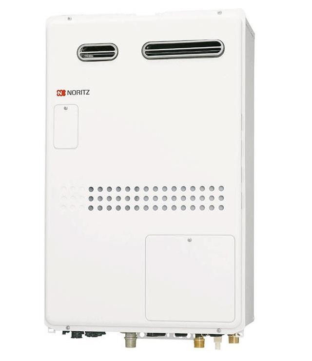 【最安値挑戦中!最大23倍】ガス温水暖房付ふろ給湯器 ノーリツ GTH-2044SAWX-1BL リモコン別売 オート 1温度 屋外壁掛形(PS標準設置形)[♪◎]