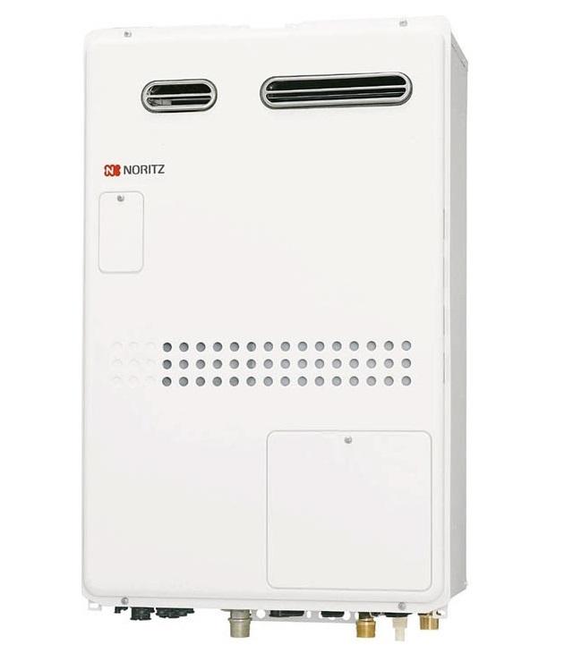 【最安値挑戦中!最大25倍】ガス温水暖房付ふろ給湯器 ノーリツ GTH-2444SAWXD-1BL リモコン別売 オート 2温度外付 外付屋外壁掛形(PS標準設置形)[♪◎]