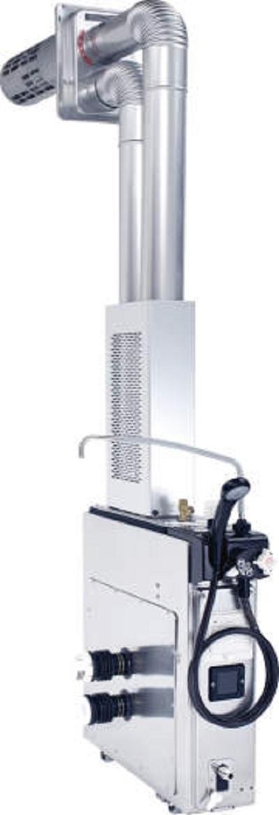 【最安値挑戦中!最大23倍】ガスバランス形ふろがま ノーリツ【GUQ-5D BL】二本管給排気型 取り替え推奨品 GUQシリーズ 浴室内設置バランス形 5.9号シャワー付 [♪◎]