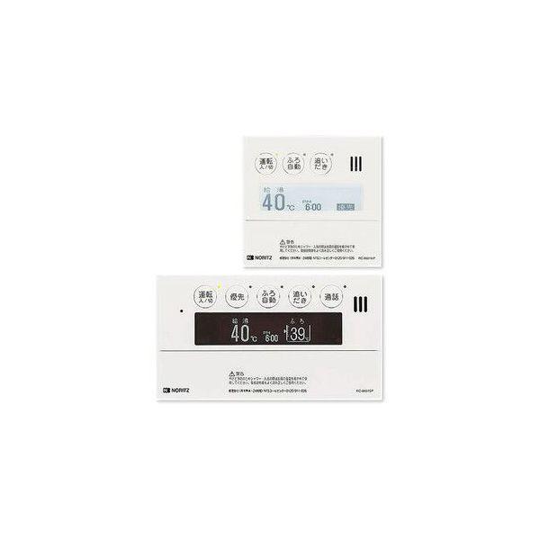 【最安値挑戦中!最大25倍】ガス給湯器部材 ノーリツ RC-9001Pマルチセット 高機能ドットマトリクス表示マルチリモコン インターホン付 [◎]