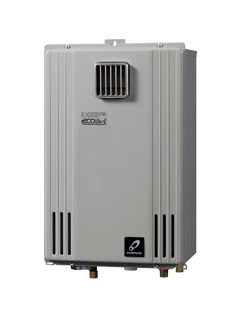 【最安値挑戦中!最大25倍】ガス給湯器 パーパス GS-H2002W-1 エコジョーズ 給湯専用 PS標準設置兼用 20号 [♪◎]