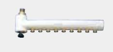 【最安値挑戦中!最大34倍】ガス給湯器 部材 パーパス LH-80F ヘッダー 熱動弁なし 8系統(9P:1本) [◎]