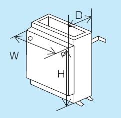 【最安値挑戦中!最大24倍】◎ パーパス ガス給湯器 部材【SD-4509-1】設置用部材 据置台
