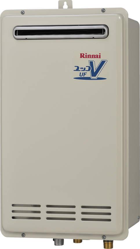 【最安値挑戦中!最大24倍】ガス給湯器 リンナイ RUF-VK1610SAW(A) 設置フリータイプ ユッコUF 16号 オート 屋外壁掛 PS設置型 15A [∀■]