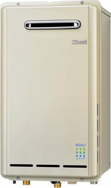 【最安値挑戦中!最大25倍】ガス給湯器 リンナイ RUX-E2013W 給湯専用タイプ ユッコ 20号 屋外壁掛型 15A [≦]