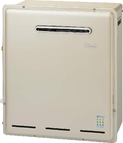 【最安値挑戦中!最大23倍】ガス給湯器 リンナイ RFS-E2018A(A) 浴槽隣接設置タイプ ECOジョーズ ユーアール 20号 フルオート 屋外据置型 15A [≦]