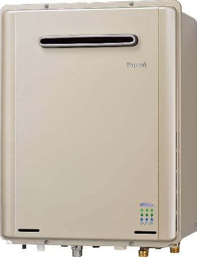 【最安値挑戦中!最大25倍】ガス給湯器 リンナイ RUF-E1605SAW(A) エコジョーズ ユッコUF 16号 オート 屋外壁掛型 20A [≦]