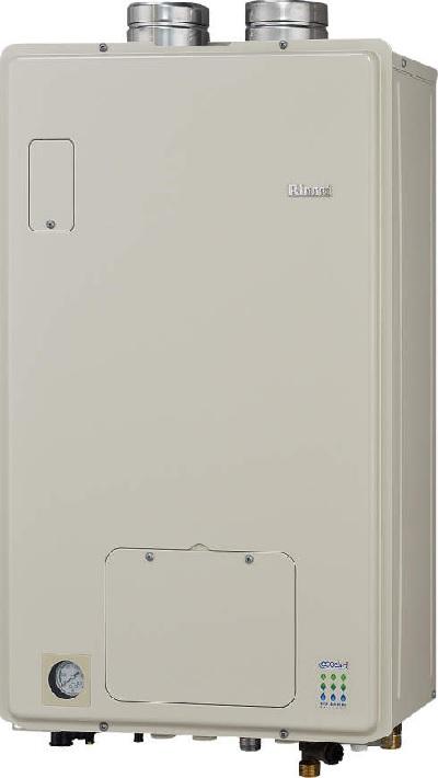 【最安値挑戦中!最大25倍】ガス給湯器 リンナイ RUFH-EM2402SAFF2-1A 24号 オート FF・屋内壁掛 [≦]