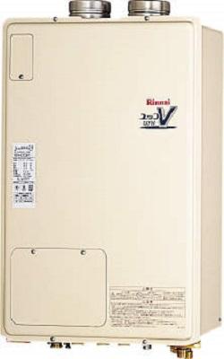【最安値挑戦中!最大24倍】ガス給湯器 リンナイ RUFH-V1613AFF2-3(B) 16号 フルオート FF方式 屋内壁掛型 [∀■]