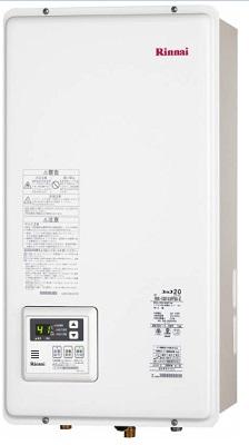 【最安値挑戦中!最大25倍】ガス給湯器 リンナイ RUX-V2005SFFBA-E 20号 FF方式 屋内壁掛方 後方給排気 [∀■]