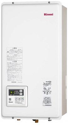 【最安値挑戦中!最大25倍】ガス給湯器 リンナイ RUX-V2005SFFBA 20号 FF方式 屋内壁掛方 後方給排気 [∀■]